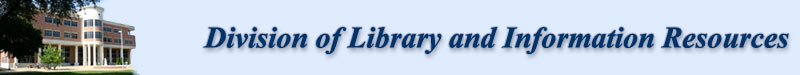 Division of Libraries and Information Resources